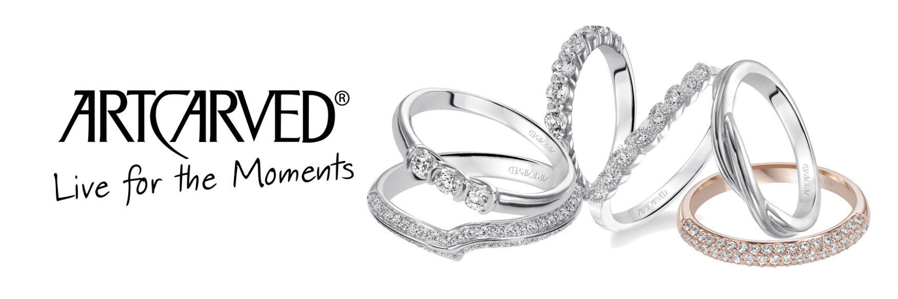 Long Island Wedding Rings - Womens - Art Carved