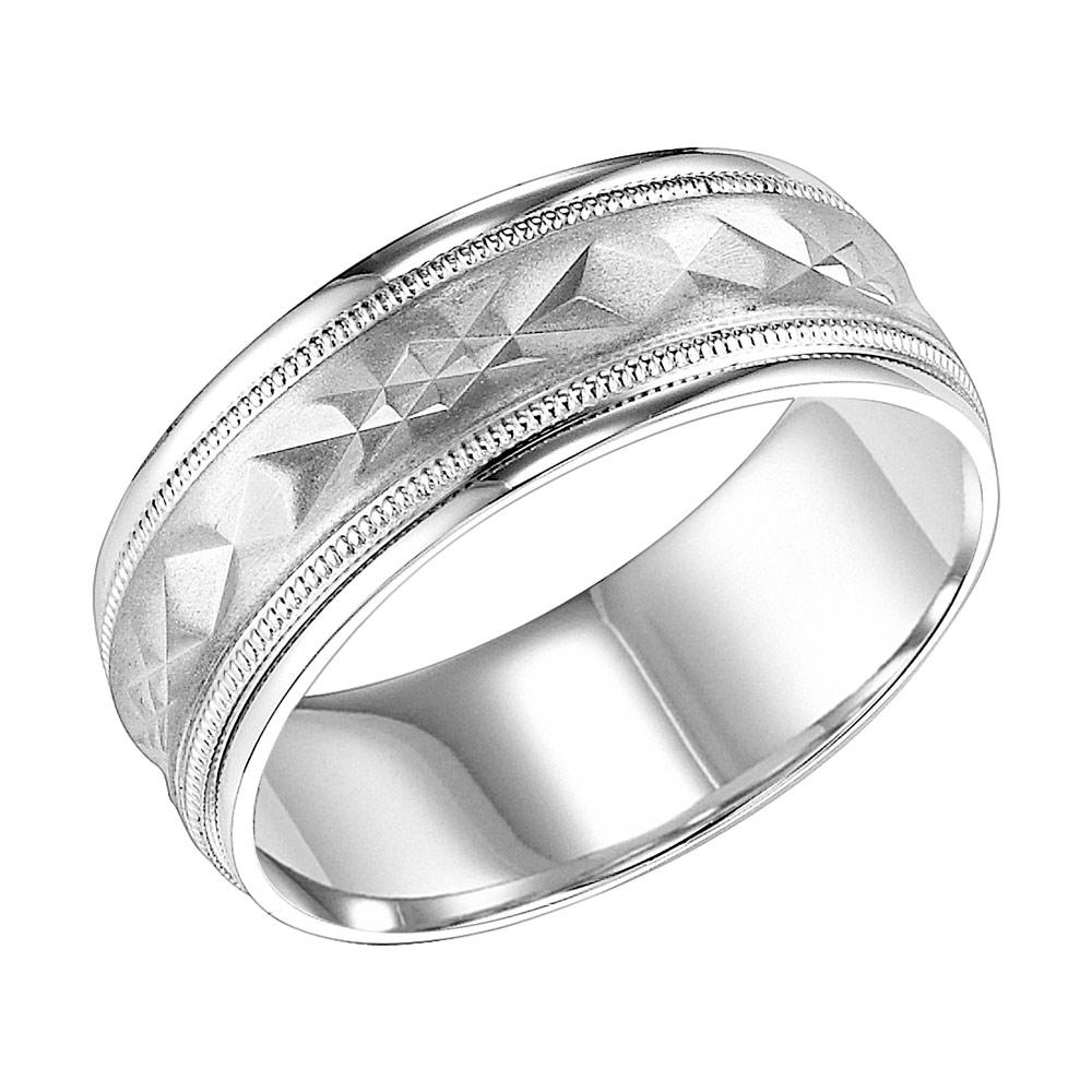 Goldman ring 11 7013w8 g00 long island ny mens wedding for Long island wedding bands
