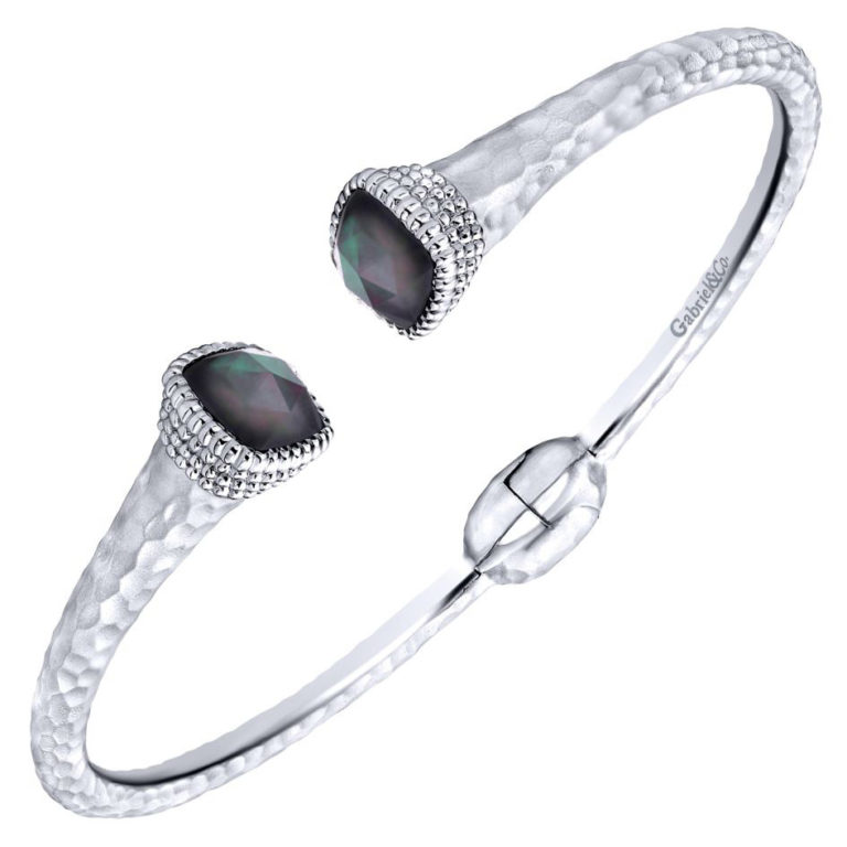 GABRIEL & CO 925&S.steel XB Bangle BG3676MXJXB