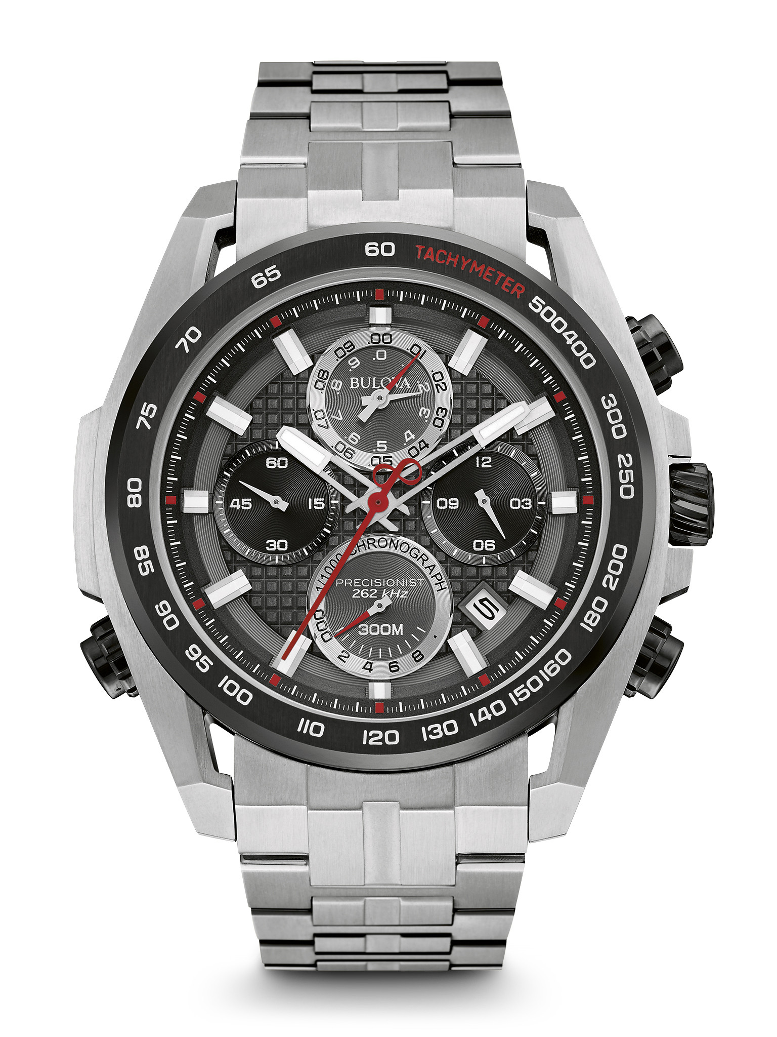 Bulova Men S Precisionist Chronograph Watch 98b270 Long