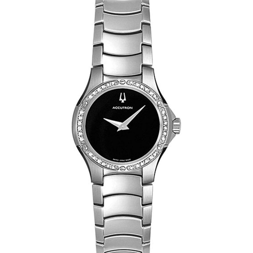 Bulova Accutron Womens Diamond Watch 26R42
