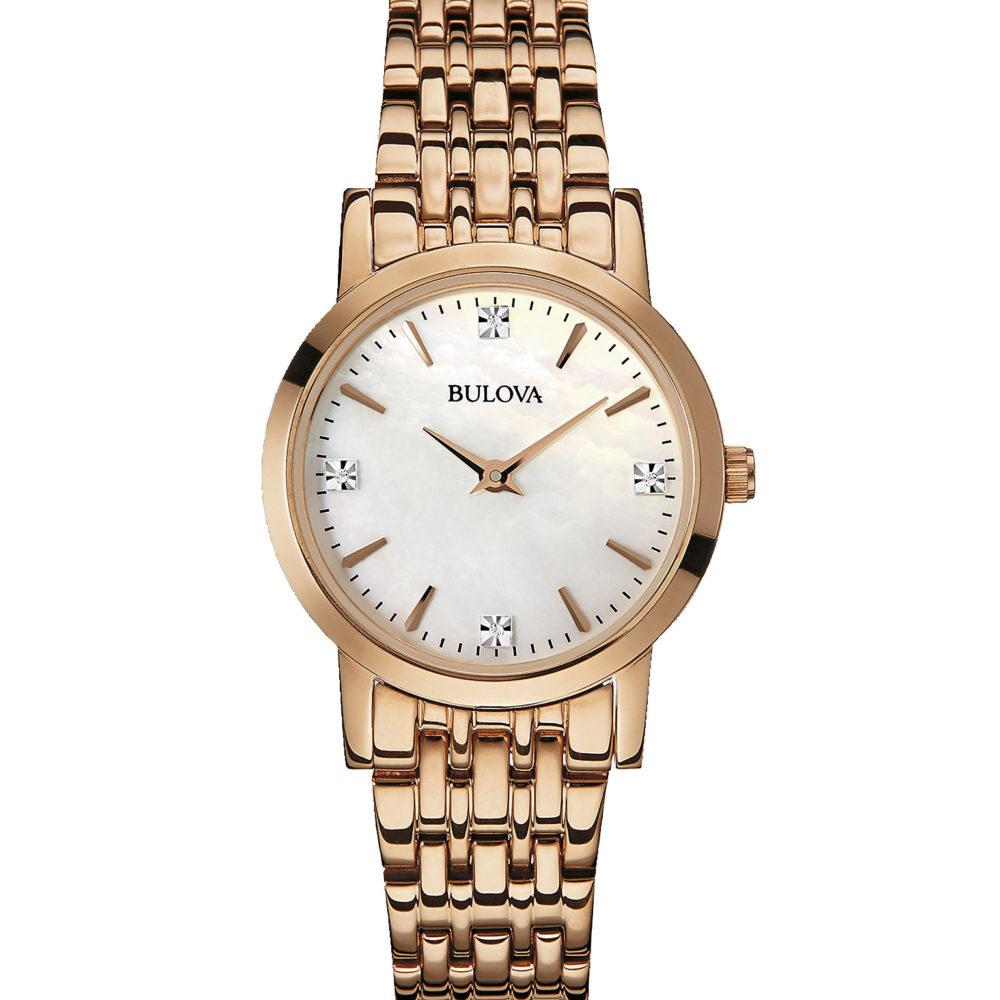 Women's Bulova Diamond Watch 97P106