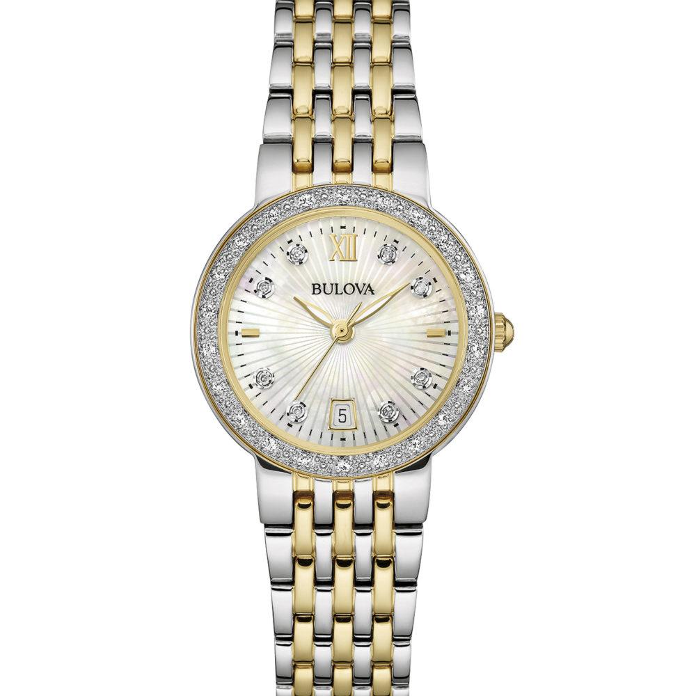 Women's Bulova Diamond Watch - 98R211
