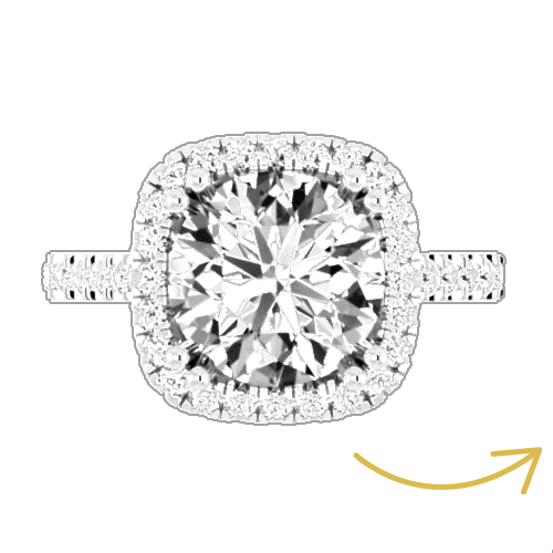 Step 1 of engagement ring design
