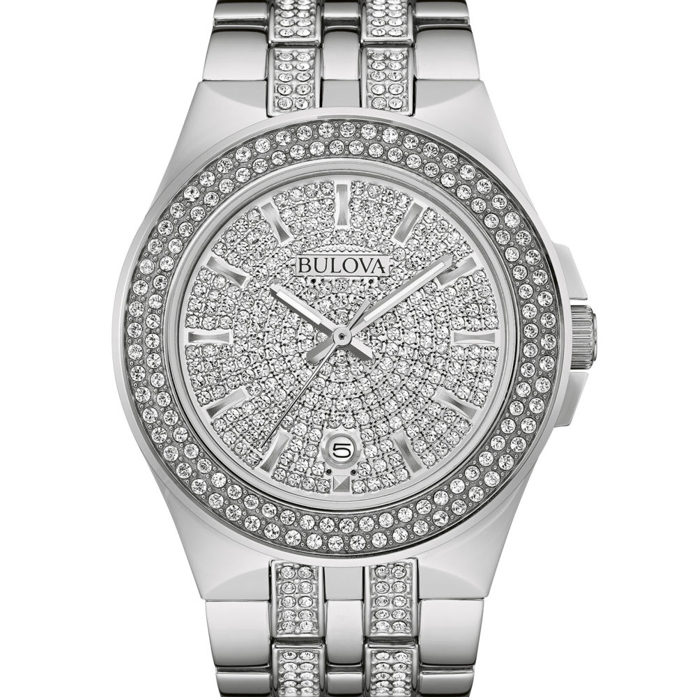 Bulova 96B235 Men's Crystal Watch