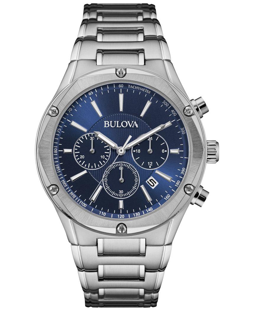 Bulova 96B248 Men's Chronograph Watch • Long Island NY ...