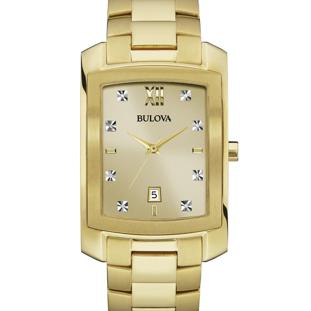 Bulova 97D107 Men's Diamond Watch