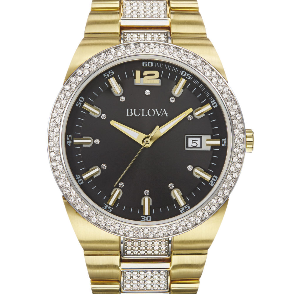 Bulova 98B235 Men's Crystal Watch