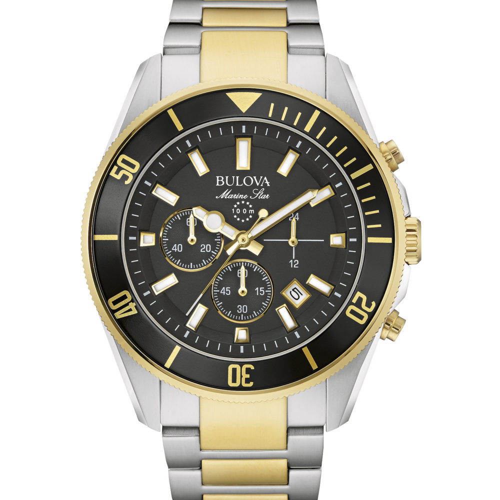 Bulova 98B249 Men's Marine Star Chronograph Watch