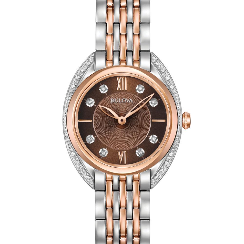 Bulova 98R230 Women's Diamond Watch