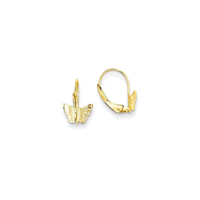 Butterfly Kids Leverback Earrings • Long Island NY • Kids Earrings ...