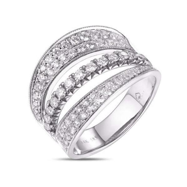 Luvente Ring R02910-RD-W