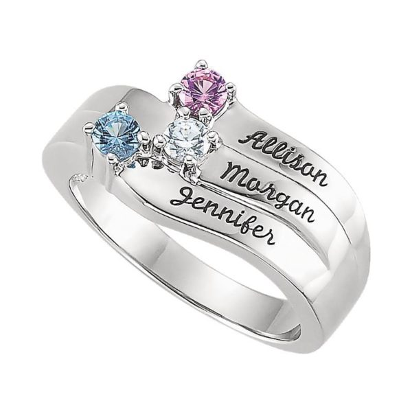 family-engraving-ring-silver-three-names