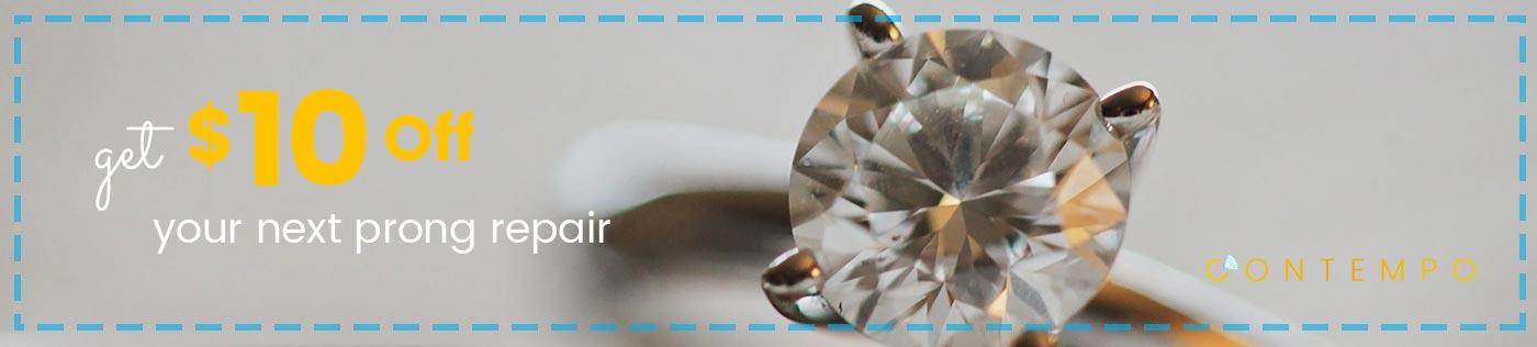 Engagement Ring prong repair long island ny