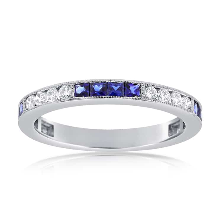 Sapphire-Diamond-Band-in-14k-White-Gold-YKR01439SWG