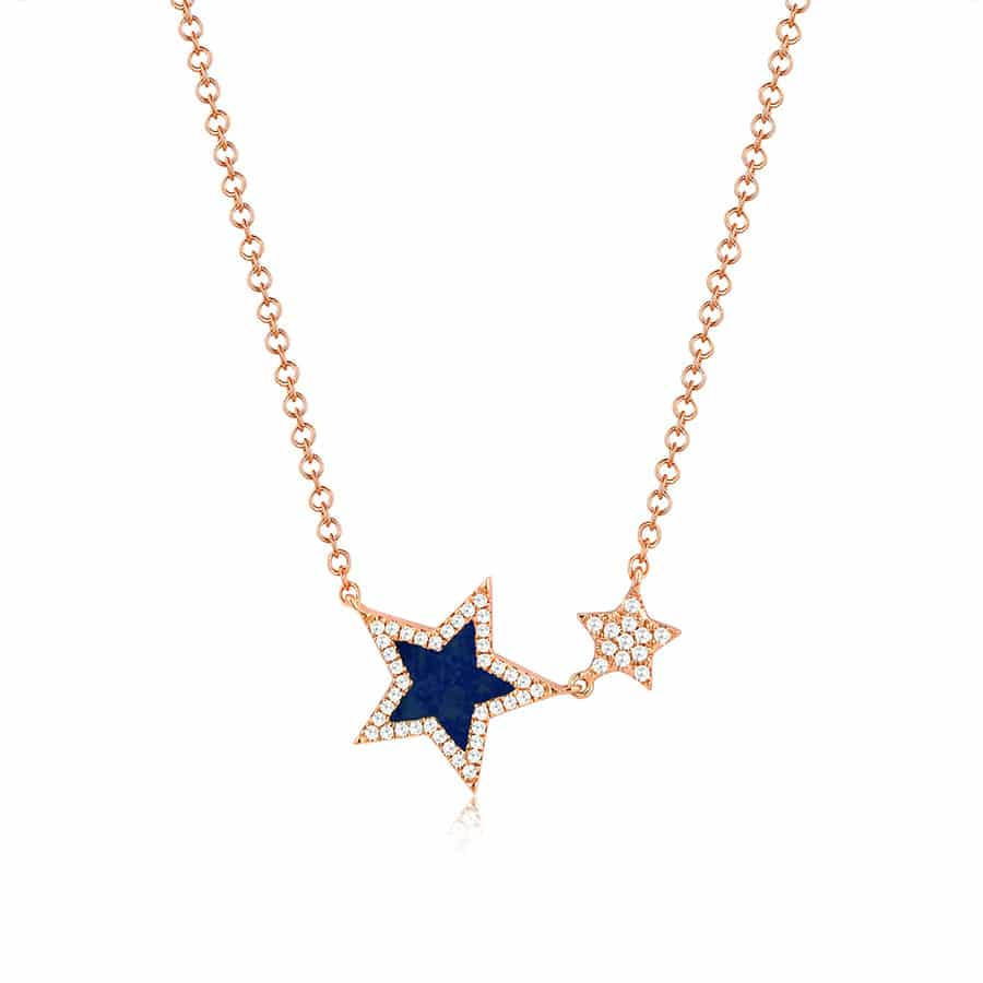 Double-Star-Blue-Lapiz-Necklace-in-14k-Rose-Gold-MN00783