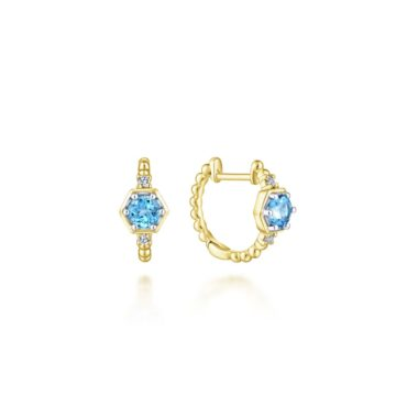 Earrings - Gabriel EG13336Y45BT
