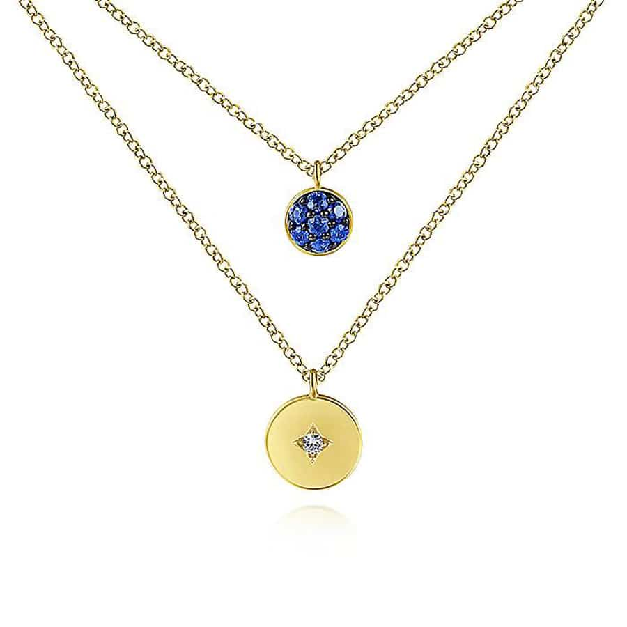Sapphire-&-Diamond-Necklace