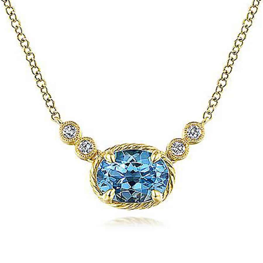 Swiss-Blue-Topaz-&-Diamond-Necklace-in-14k-Yellow-Gold