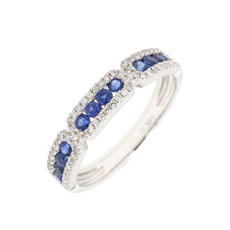 luvente-blue-sapphire-Band-with-Paved-Diamonds-Ring