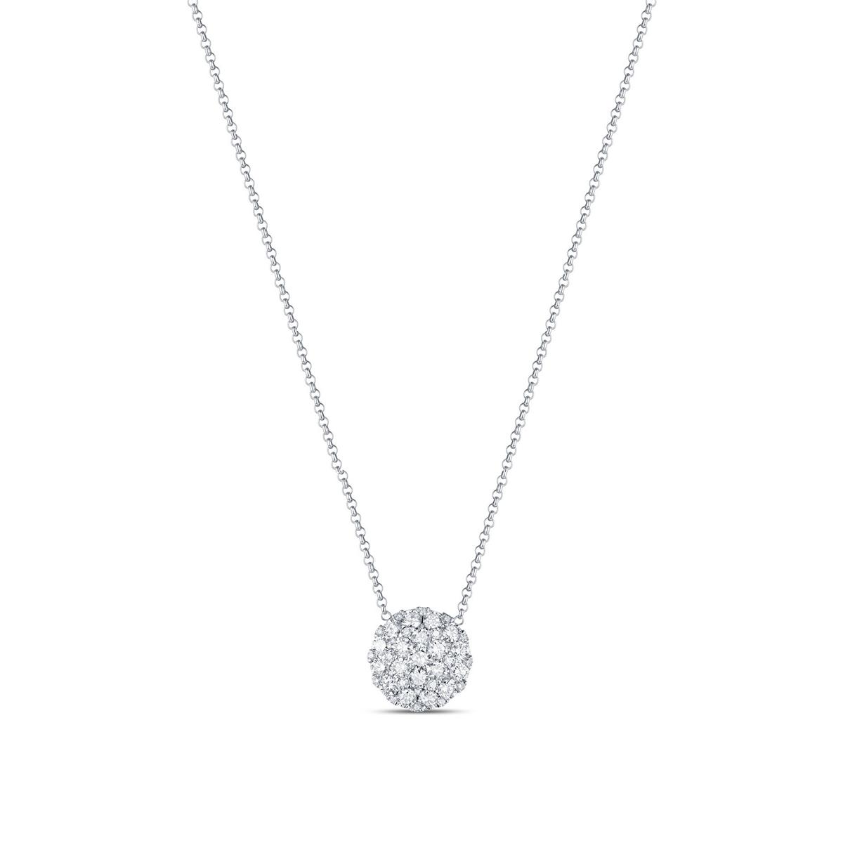 round-diamond-paved-necklace-14kwgold