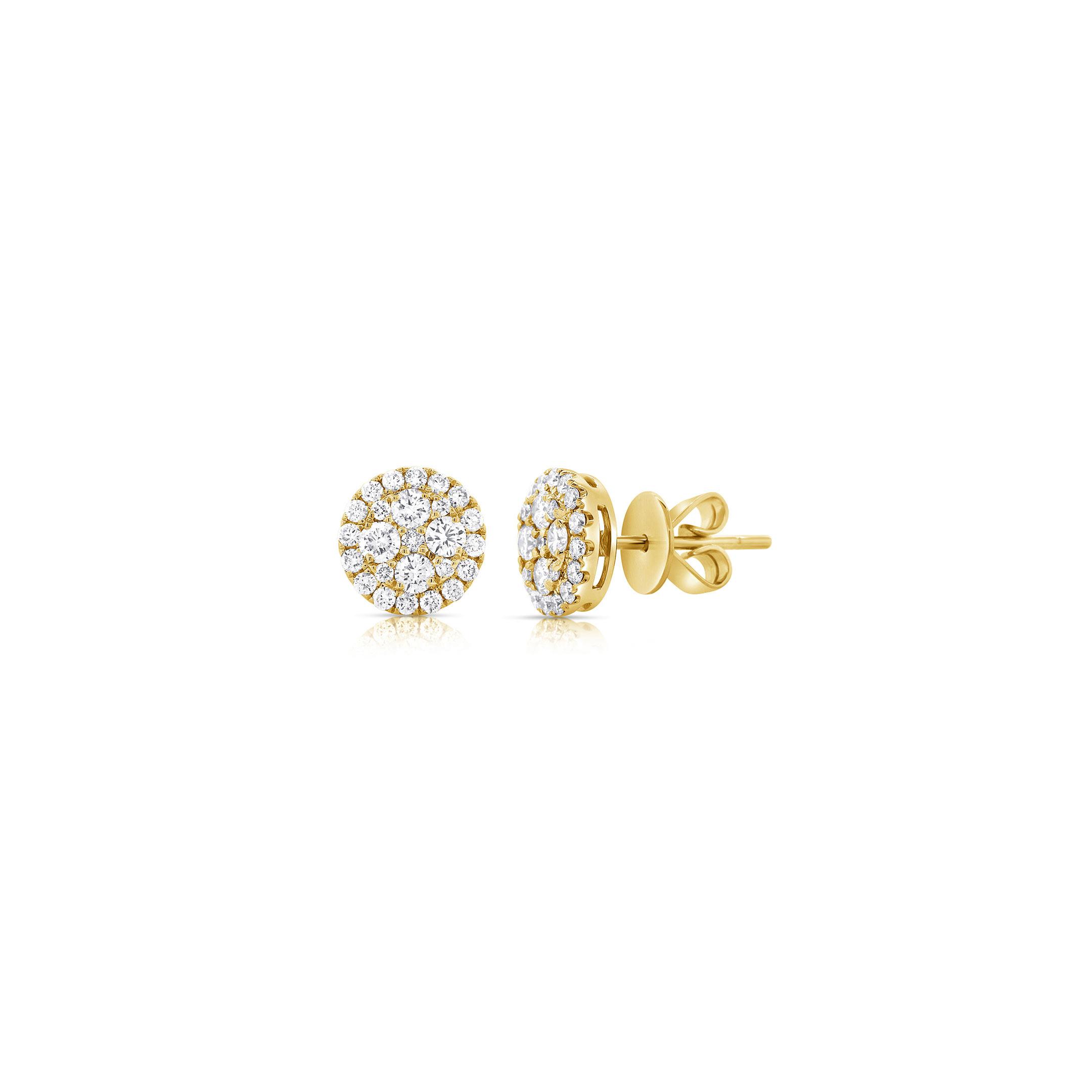 round-diamond-cluster-stud-earrings-14k-gold